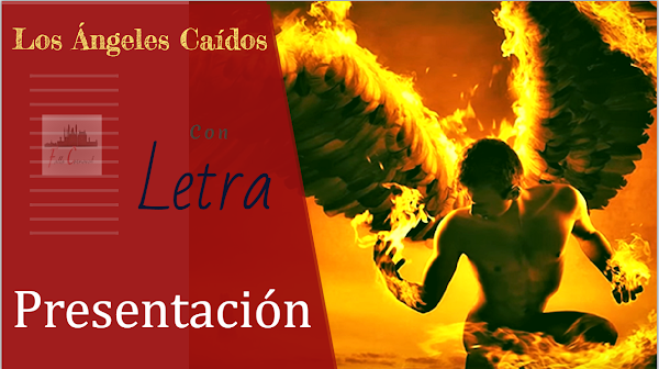 """✍🎭✍Presentación """"Los Ángeles Caídos"""" con LETRA Sincronizada (2002) ✍🎭✍"""
