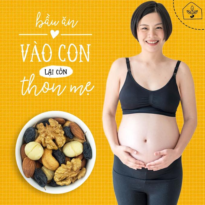 Mixnuts dinh dưỡng ăn kiêng cho Bà Bầu đủ chất