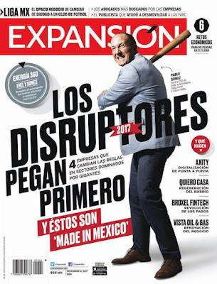 Revista Expansión México 1 Diciembre 2017