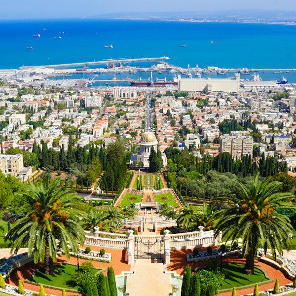 İsrail ve Filistin Güncesi 1. Gün - Haifa ve Bahai Bahçeleri