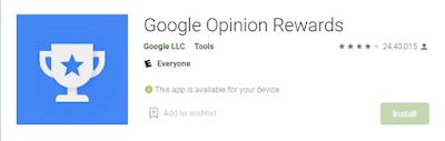 Google Opinion Rewards - Paid Surveys For Cash