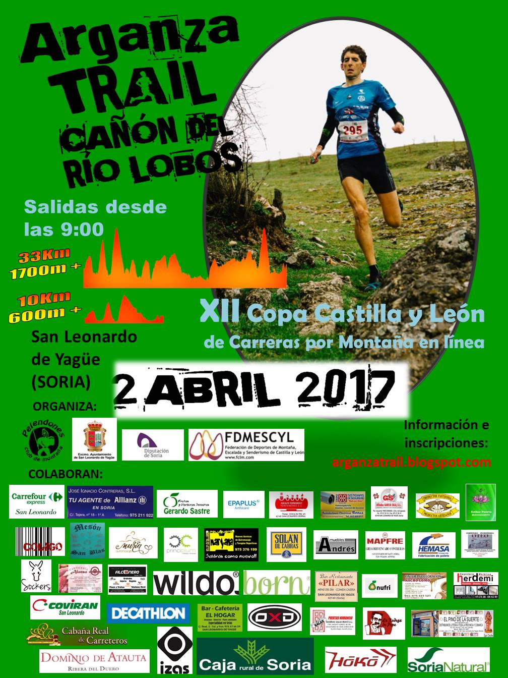 Cartel VI Arganza Trail