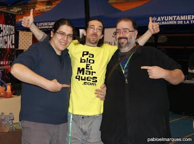 Lumi, Pablo y Jason