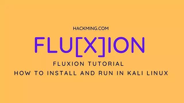 Fluxion Tutorial