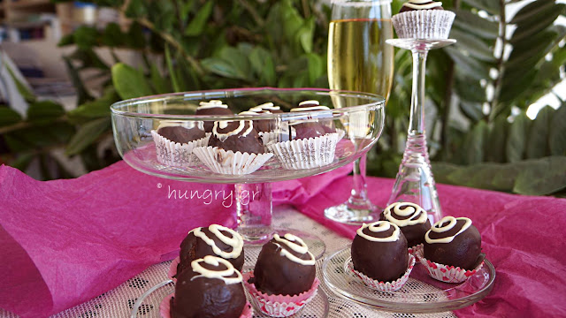 Chocolate Coconut Ganache Truffles