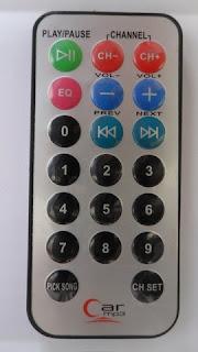 Car MP3 IR remote control