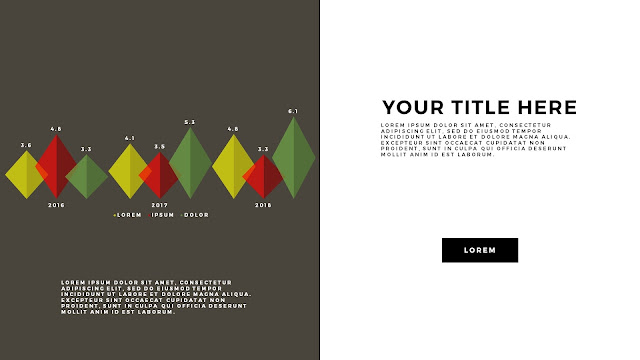 Free Infographic PowerPoint Template with Editable Data chart Slide 8