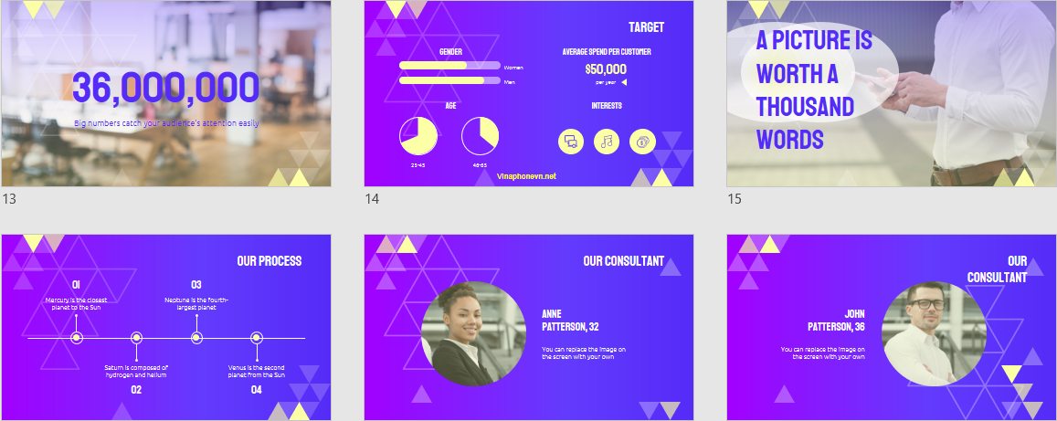 SEO Consulting Free PowerPoint Templates