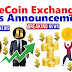 OneCoin Exchange News Announcement