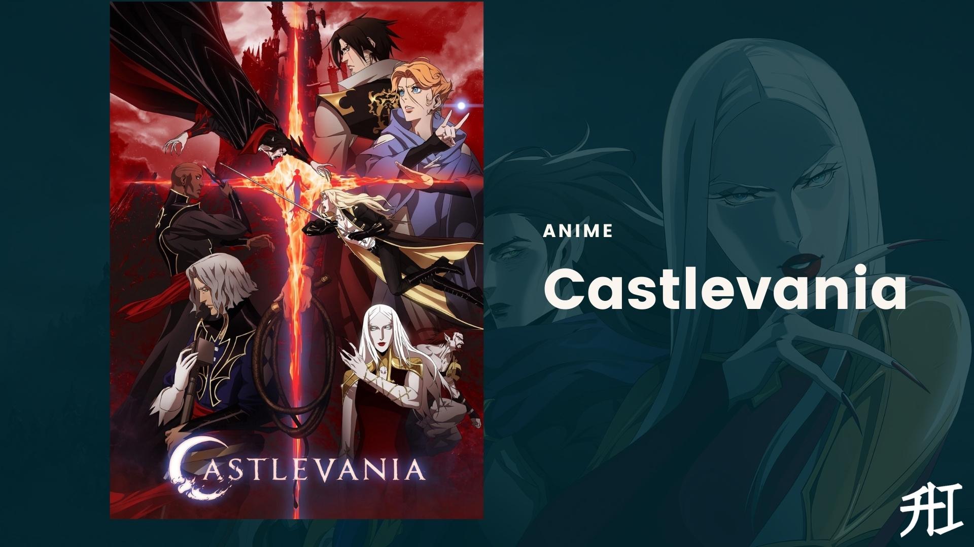 Castlevania is best anime like attack on titan on netflix