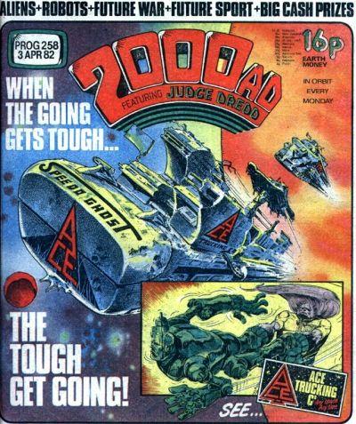 2000 AD Prog 258, Ace Trucking