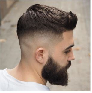 Fashionable Taper Fade Haircut Looks For Gents
