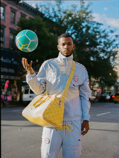 PUMA AND CREATIVE ARTISTS KIDSUPER STUDIOS RELEASE FOOTBALL INSPIRED STREETWEAR COLLECTION