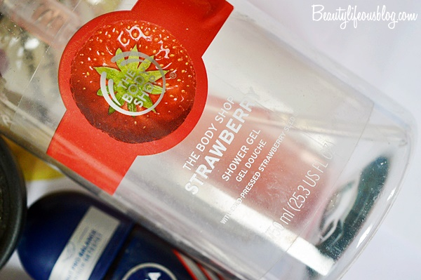 The Body Shop - Strawberry Shower Gel Erfahrung