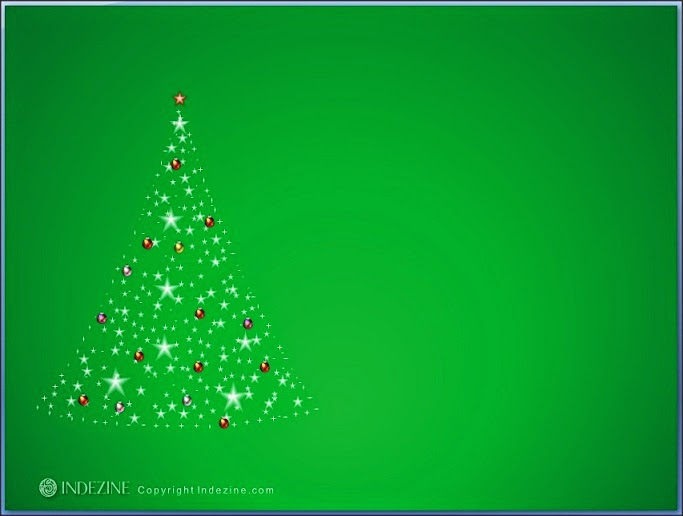 7 best free christmas powerpoint templates with tree