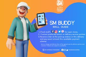 SM City Urdaneta Central's SM Buddy Mall Guide