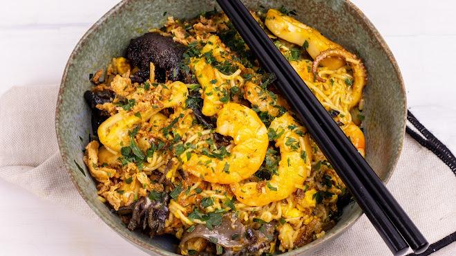 Nouilles Singapour (Singapore Noodles)