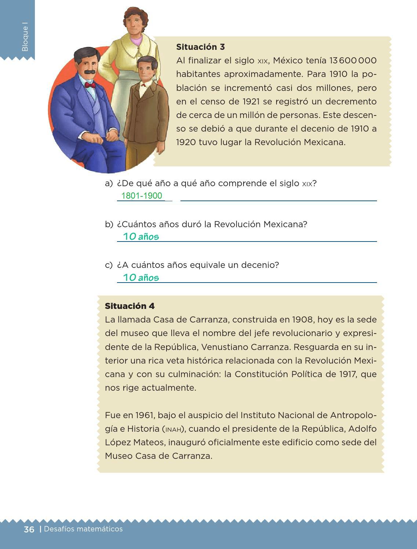Unidades y periodos - Bloque I - Lección 14 ~ Apoyo Primaria