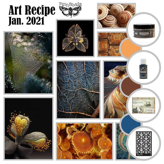 Current Art Recipe challenge