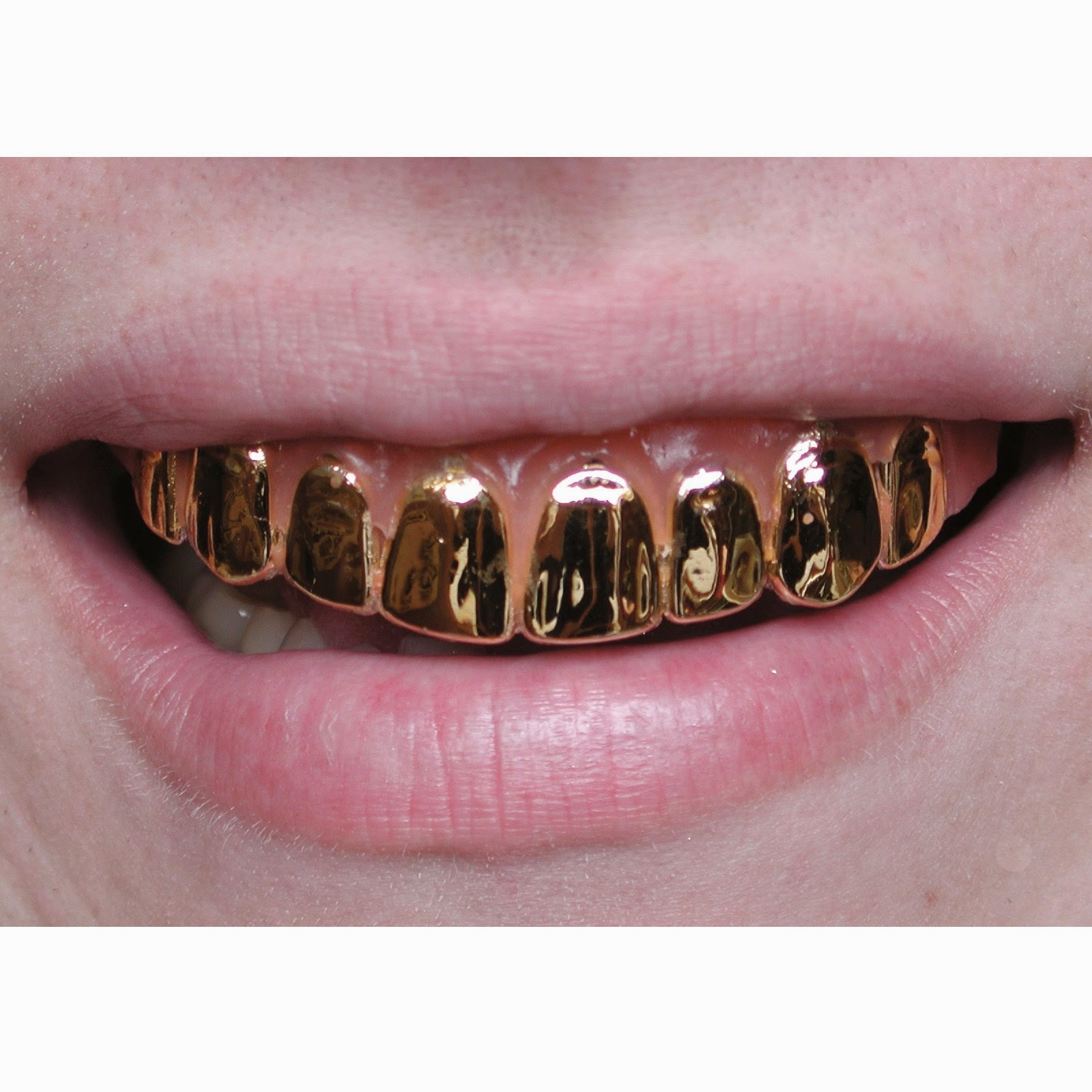 Gold grills for your mouth are a trendy accessory in the Earth. It is a  style statement for most of the designers bcf82546aa33