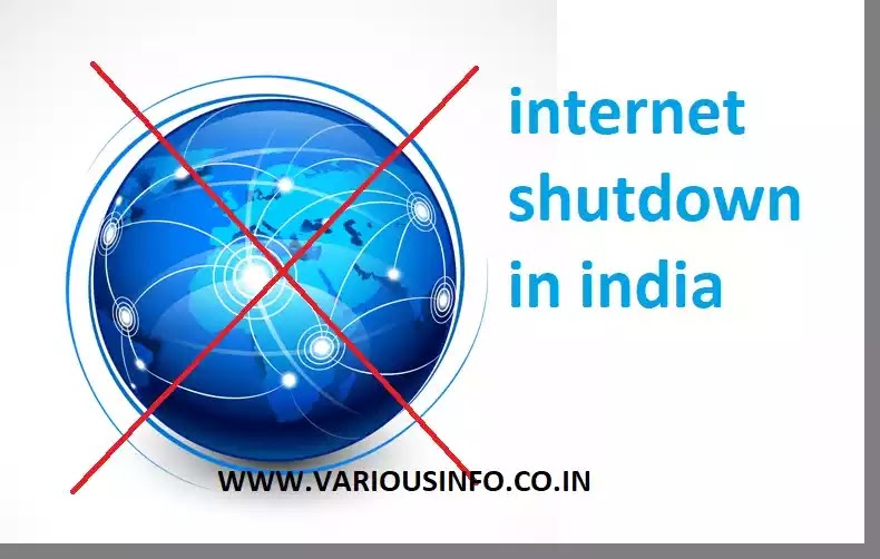 internet shutdown in india