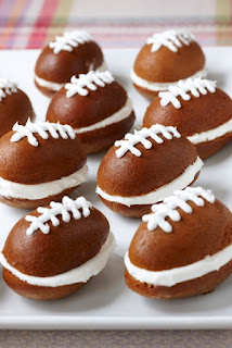 Whoopie Pies in Footballs