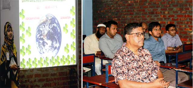Green Chemistry & Green Engineering held seminar