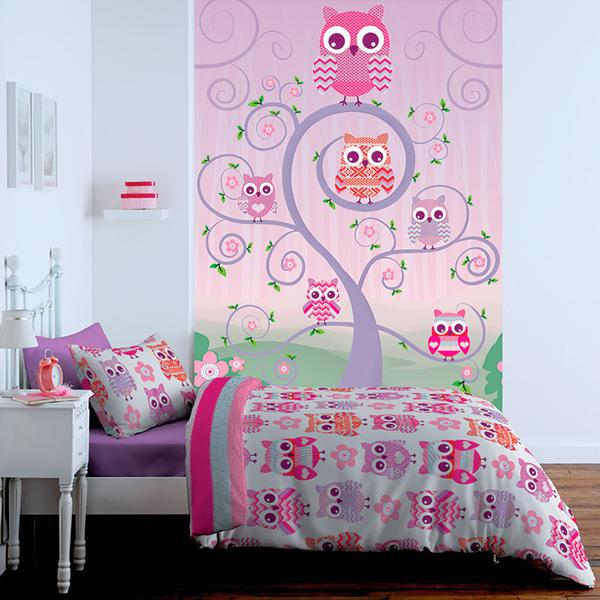 Papel pintado fotomurales infantiles 1 wall for Programa para decorar habitaciones online