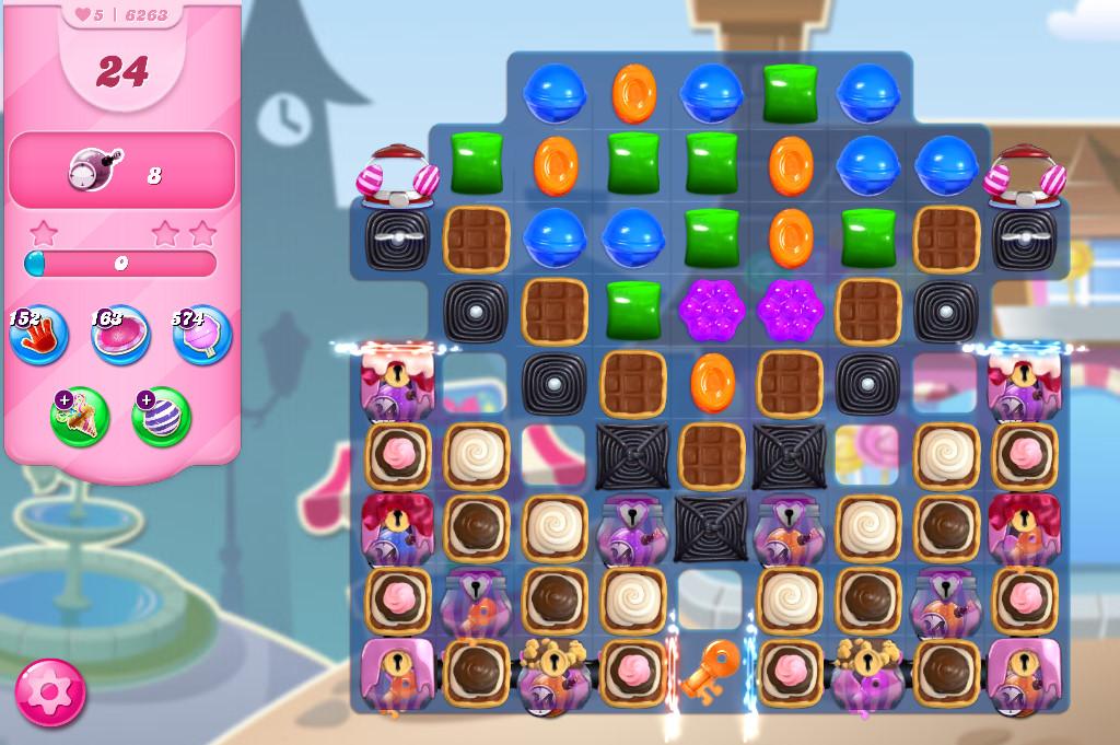 Candy Crush Saga level 6263