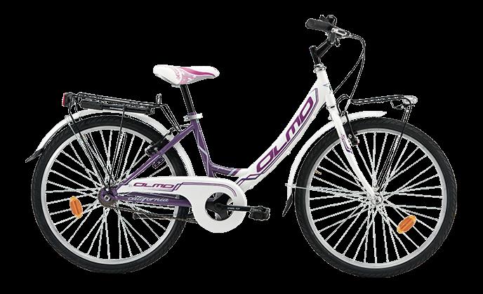 Biciclette Trekking City Bike Donna Ragazza 24 Pollici California
