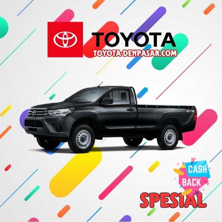 Toyota Denpasar - Lihat Spesifikasi New Hilux SC, Harga Toyota Hilux SC Bali dan Promo Toyota Hilux SC Bali terbaik hari ini.