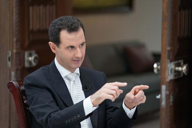 الأسد يرد على ترامب:عليك أولا وقبل كل شيء أن تمثل أخلاق شعبك قبل أن تمثل أخلاقك الخاصة.