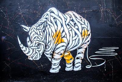 Art street graffiti London