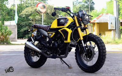 Modifikasi Scrambler / Tracker Ninja 250