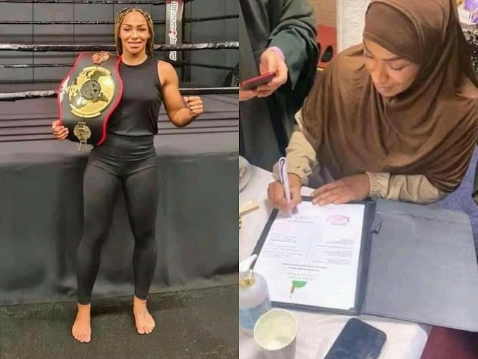 RELIGION : EX-NERTHERLAND BOXING STAR RUBY CONVERT TO ISLAM
