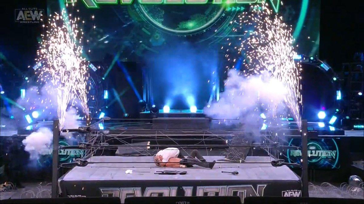 Bully Ray, Shotzi Blackheart e outros lutadores comentam sobre o final do AEW Revolution