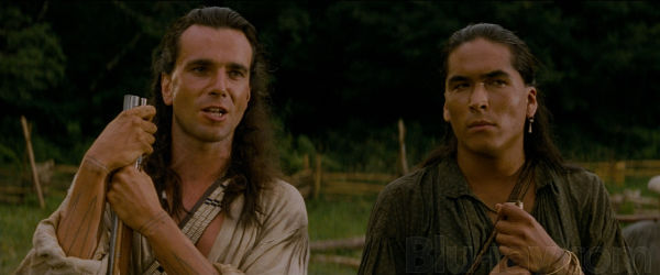 Hawkeye (Daniel Day-Lewis) and Uncas (Eric Schweig)