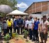 Em visita a Vargem Grande e Nina Rodrigues, secretário Jefferson Portela participa de ações em defesa do meio ambiente