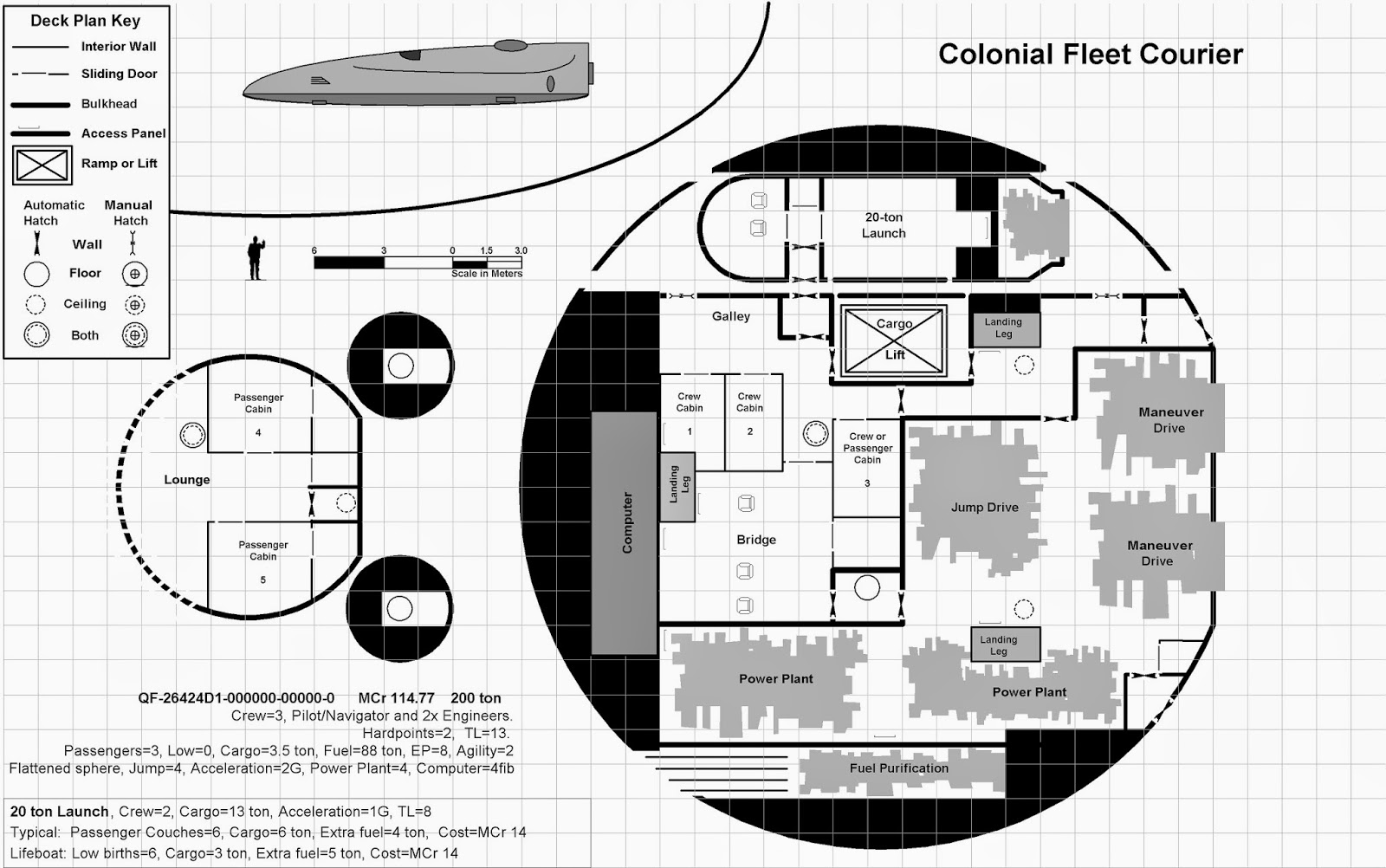 Discoverthat Sci Fi Space Ship Deck Plan Stencils