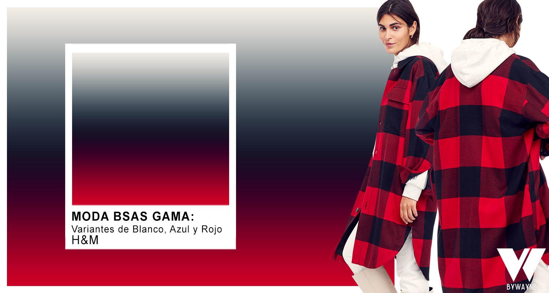 A cuadros en negro y rojo combinacion de colores de moda otoño invierno 2021