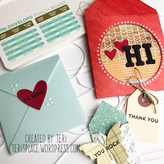 Handmade Envelopes by Teri | Terisplace.wordpress.com