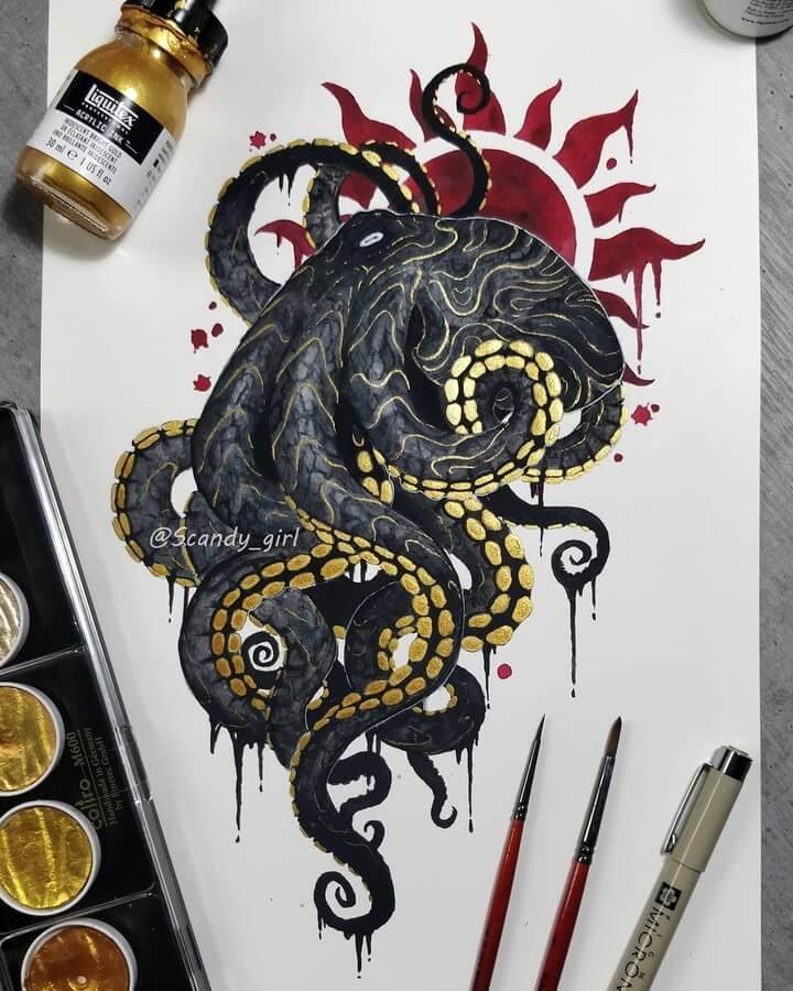 08-Octopus-Jonna-Hyttinen-www-designstack-co