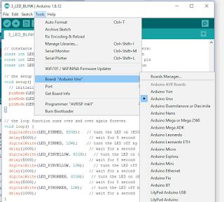 Arduino IDE Code