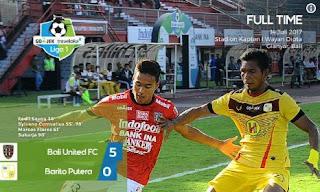 Bali United Hajar Barito 5-0
