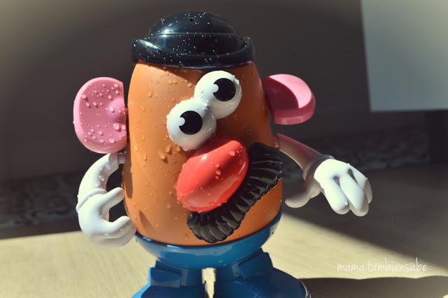 Mr Potato suda de calor