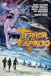Terror en el espacio, una gran película de Mario Bava