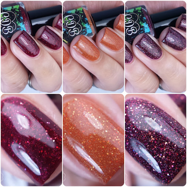 CDB Lacquer - Thanksgiving 2015 Trio