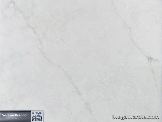 Quartz Stone Color sereno bianco v714