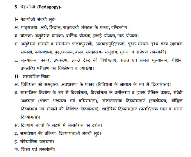 syllabus of samvida shikshak
