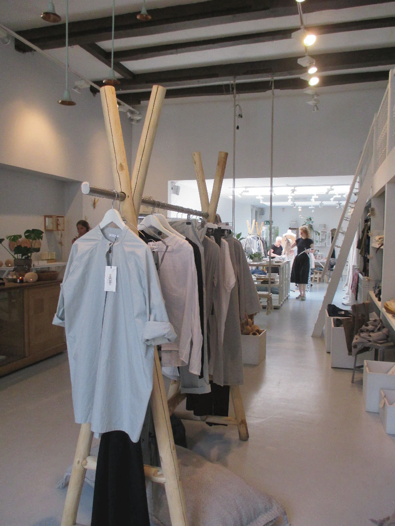 Visita al noto store Atelier Sukha